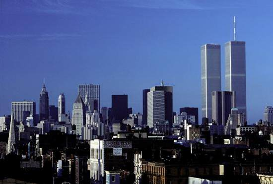 NY and World Trade towers, '81