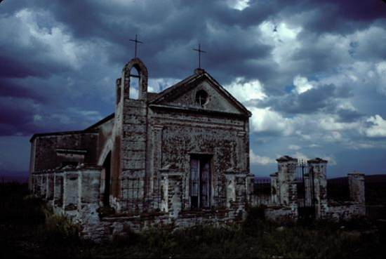 Haunted church, Andes